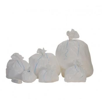 Sacs poubelle blanc haute densité