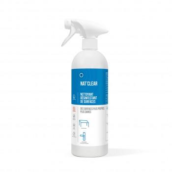 NAT'CLEAR Nettoyant désinfectant surfaces PAE